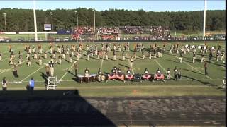 Murrah High School Marching Band at Copiah Marching Festival Oct. 4, 2014