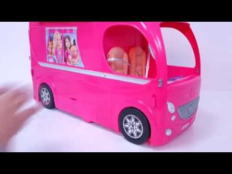 Mobile home  from Barbie he  Travel  from  Barbie Y its  sisters  to the  Town  Willow