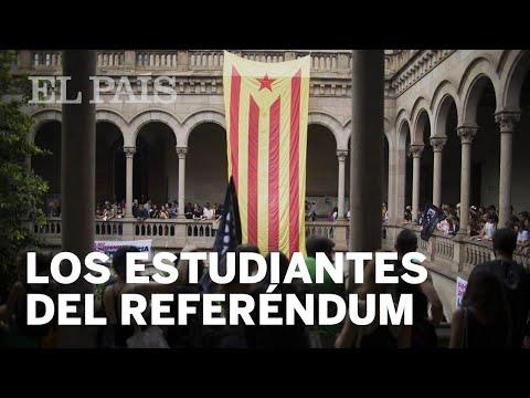 Miles de estudiantes ocupan la universidad de Barcelona | España