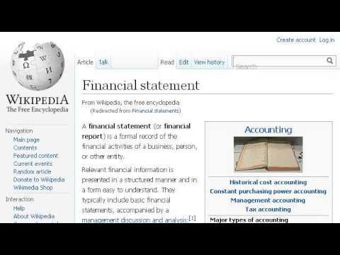 Guidelines For Non Profit Financial Statements