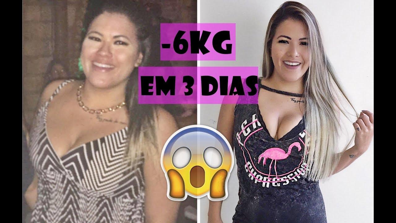 Dieta perder 3 kilos em 2 dias