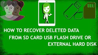 How to Recover Deleted Data from USB, SD card and External Hard Disk | Hard drive recovery Easy way
