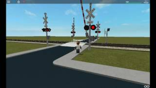 Automatic railroad crossings in roblox