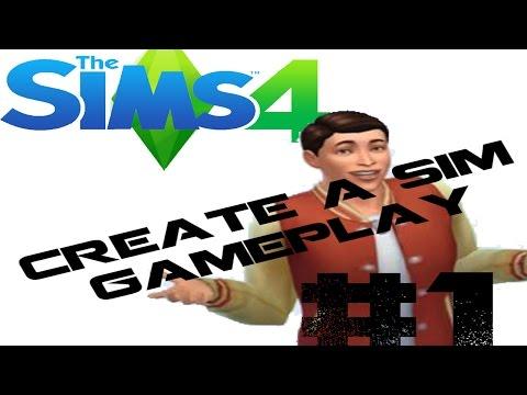 CREATING MYSELF! - SIMS 4 Create a Sim Demo