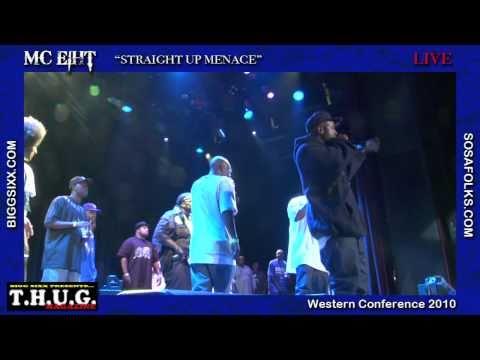 "MC Eiht ""Straight Up Menace"" Live"