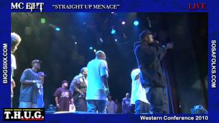 MC Eiht Straight Up Menace Live