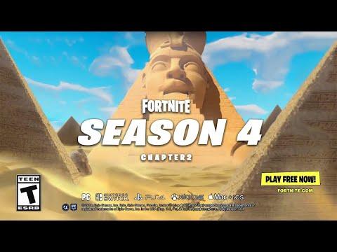 Fortnite Chapter 2 Season 4 Launch Trailer Youtube