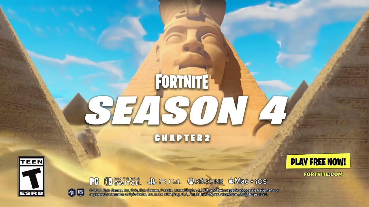 Fortnite - Chapter 2 Season 4 | Launch Trailer - YouTube