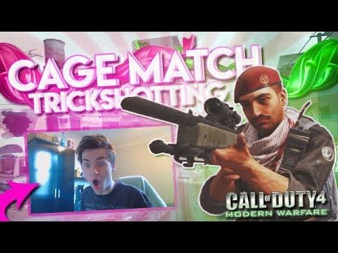 Download Cage Match Trickshotting! (7 SHOTS!)