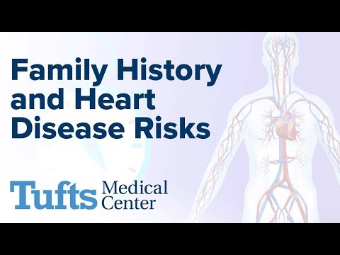 Family History and Heart Disease Risks | Tufts Medical Center