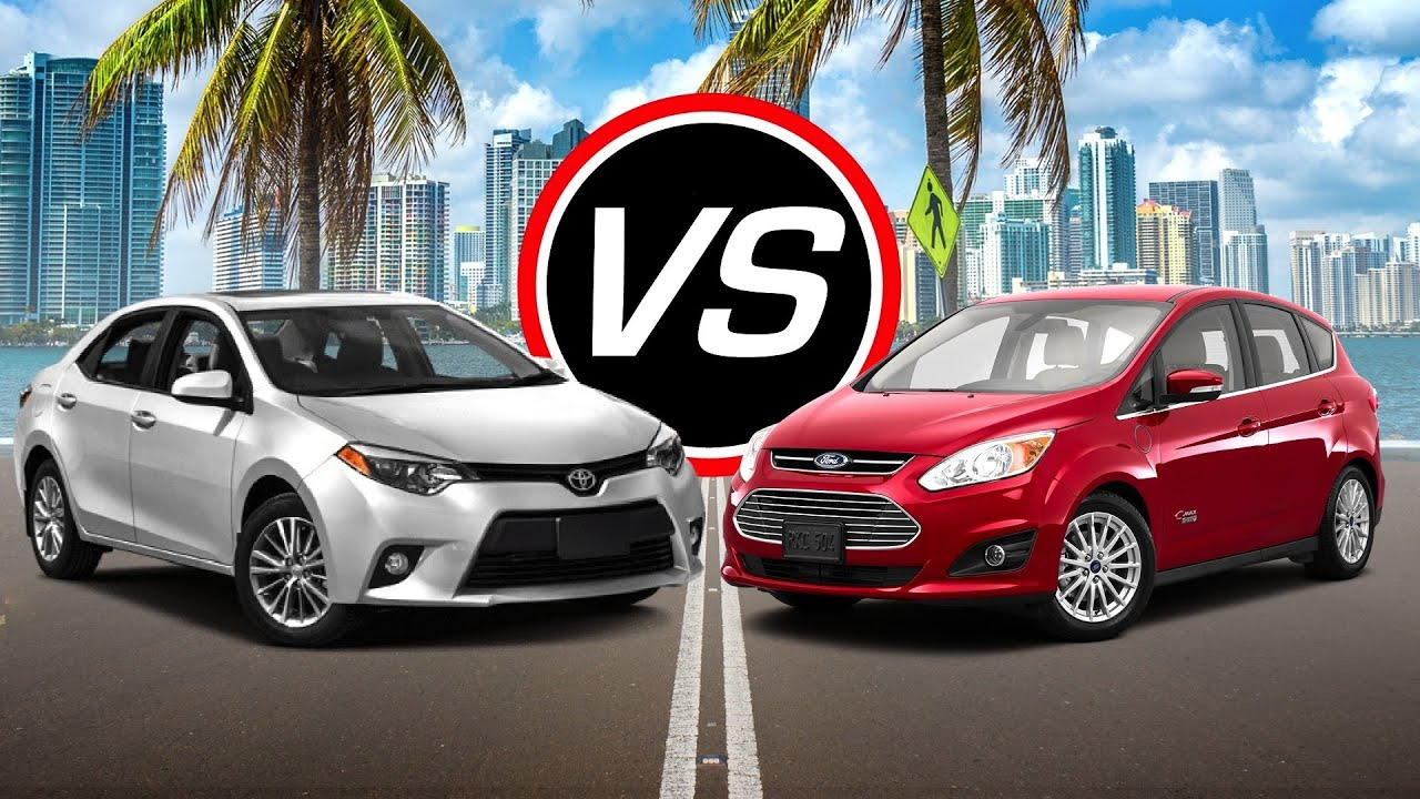 2016 Toyota Corolla vs Ford C Max Energi Spec parison
