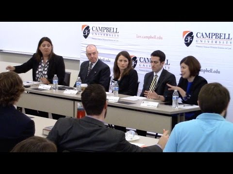 Campbell Law School Federalist Society panel targets human trafficking