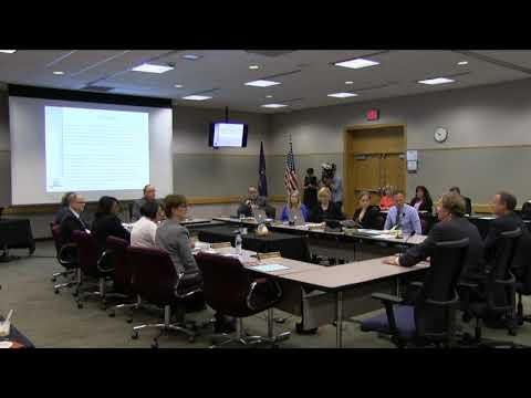 Michigan State Board of Education Meeting for October 10, 20