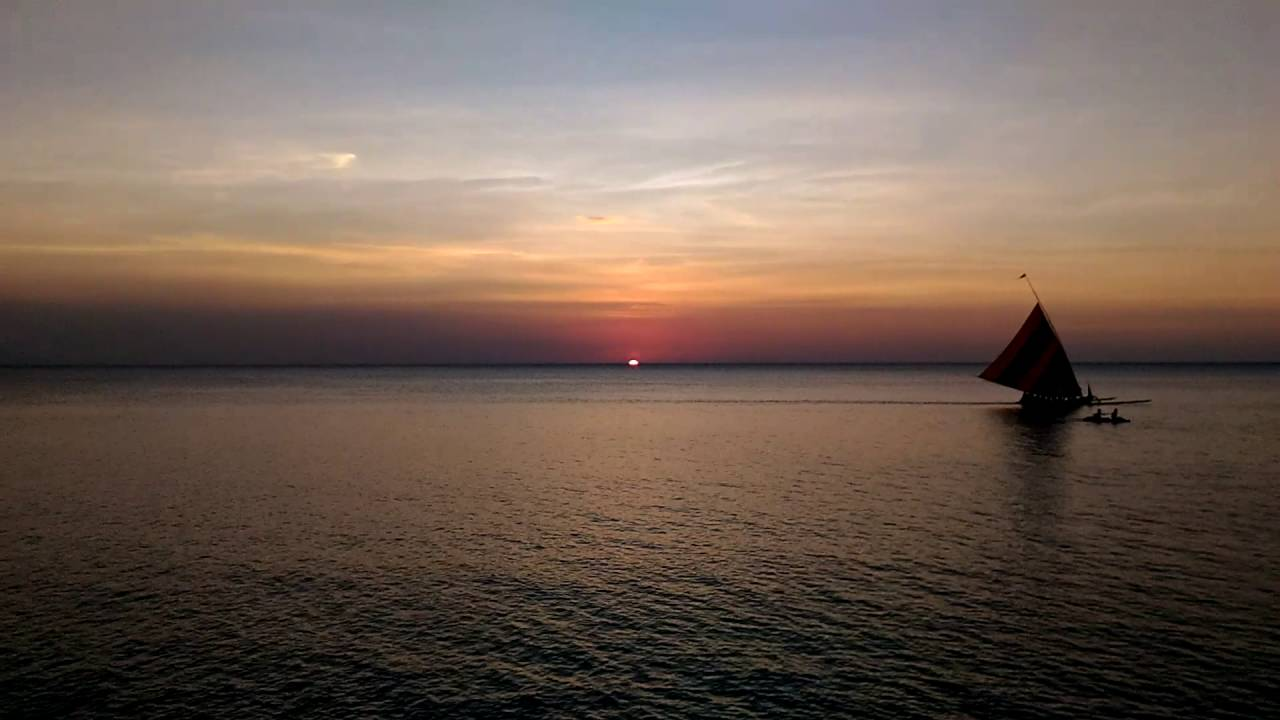 Sunset Di Pantai Pasir Putih Situbondo Youtube