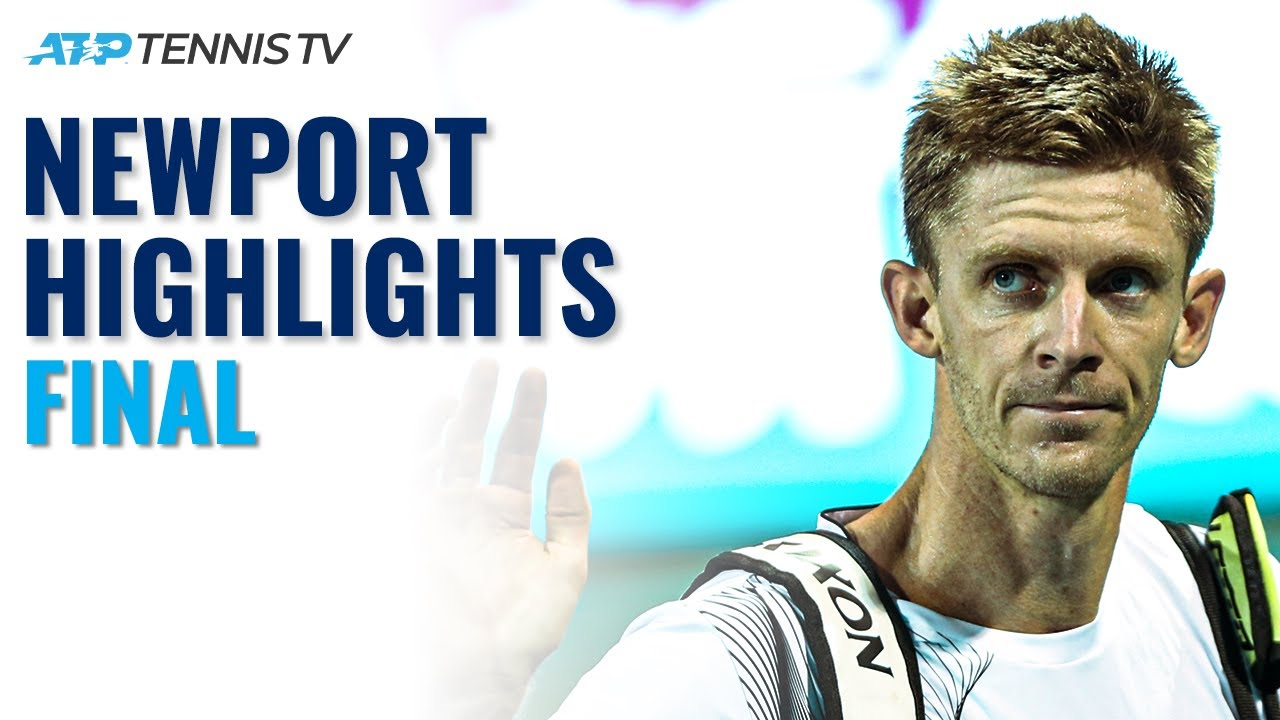 Kevin Anderson vs Jenson Brooksby | 2021 Newport Final Highlights