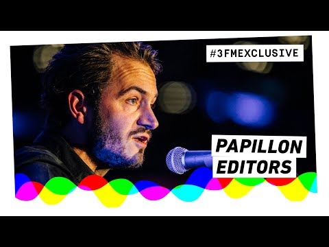 Editors - Papillon (Acoustic) | 3FM Exclusive