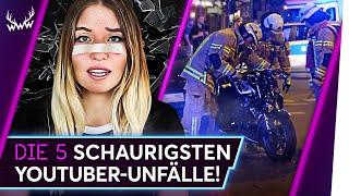 Die 5 SCHAURIGSTEN YouTuber-Unfälle! | TOP 5