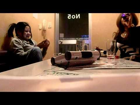 lanie n me bonding time at karaoke