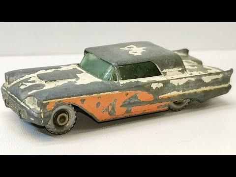 Matchbox Restoration Ford Thunderbird No 75 Toy Diecast Car Spring Renovation