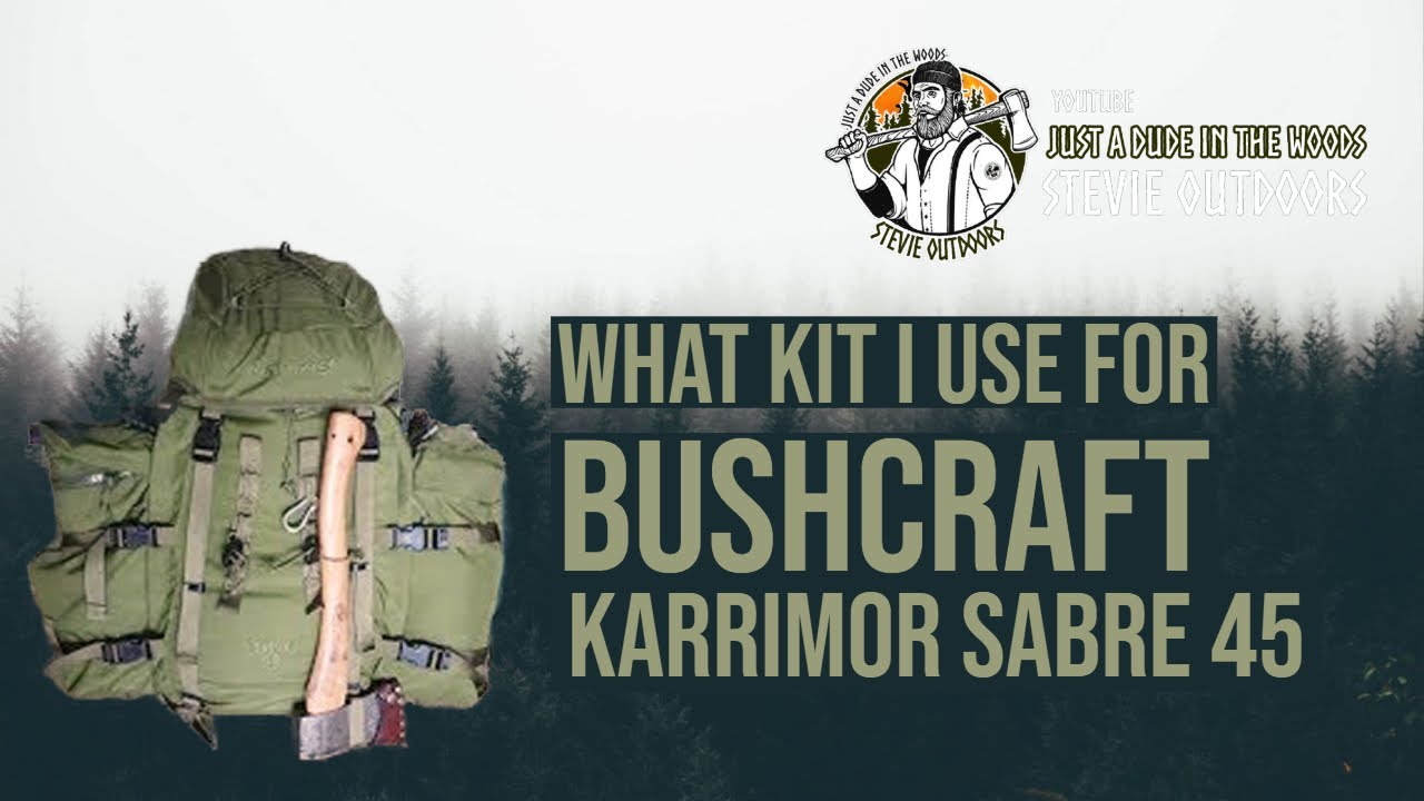 What Kit I Use for Bushcraft and Wild Camping | Karrimor ...