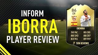 FIFA 17 INFORM IBORRA (86) PLAYER REVIEW