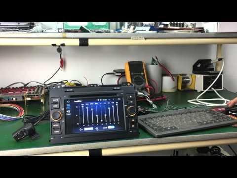 Joying Toyota Prado Land Cruiser 120 Android Car Stereo DVD Player GPS Navigation System 1024*600
