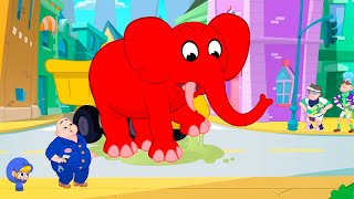 The Glue Bandits + More Adventures | My Red Fire Truck | Kids Cartoons | Mila and Morphle