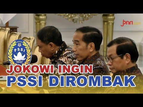 Tuntutan Jokowi Kepada PSSI