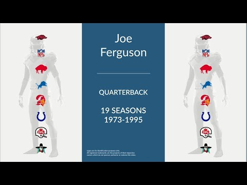 Joe Ferguson: Football Quarterback