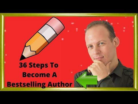 36 steps: how to become an Amazon bestselling author – how to write a book, sell books & make money
