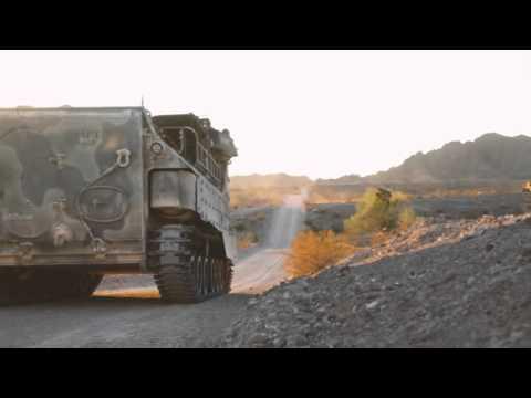 Company A, 3D Assault Amphibious Battalion in Yuma Proving Grounds