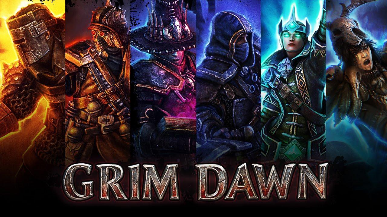 Grim Dawn - Storm Tempest Wind Druid of Lightning Rocks (Arcanist + Shaman  = Druid)