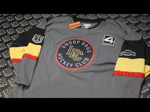 SNOOP DOGG X PUCK HCKY -  LBC Hockey Club  (grey 163a4293a