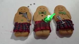 Scottish Gingerbread Men