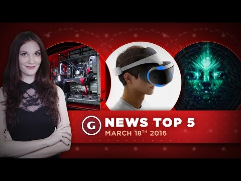 PlayStation VR Details & PS4/Xbox One To Connect Networks?! - GS News Top 5
