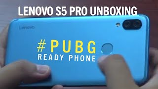 Lenovo s5 pro unboxing and camera samples a #pubg ready ai phone #LenovoS5Pro