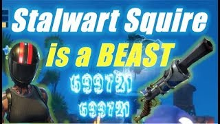 Stalwart Squire is a BEAST / Fortnite Save the World