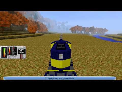 Železniční Trať Karlovy Vary - Johan'stadt v Minecraftu! Část 1: K. Vary - Nejdek