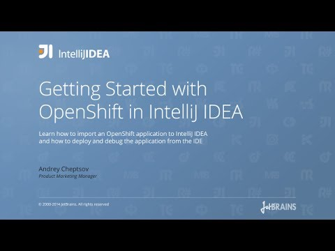 Getting Started with OpenShift in IntelliJ IDEA