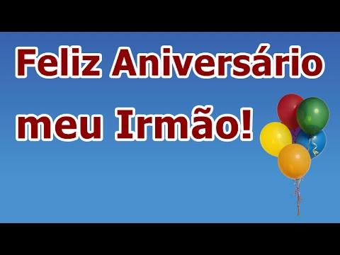 Feliz Aniversário Para Irmão Youtube