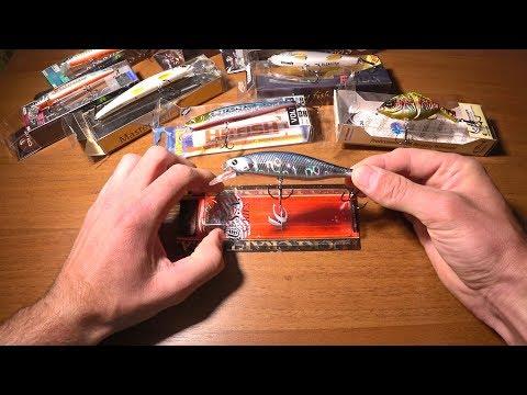 Распаковка LC Lightning Pointer, воблеров Izumi и Sprut из интернет-магазина Spinningline