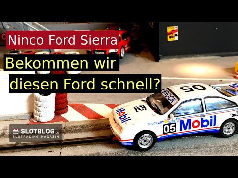 Ninco Ford Sierra – Bekommen wir dieses Slotcar schnell?