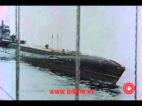 Royal Indian Navy Sailors Sinking A Japanese Submarine During World War 2