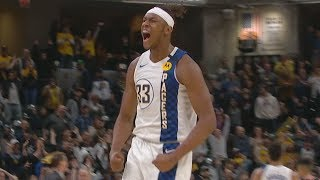 Myles Turner Dagger 3 vs Blazers! 2019-20 NBA Season