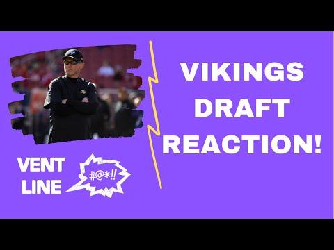 Minnesota Vikings NFL Draft round 2 & 3 watchalong