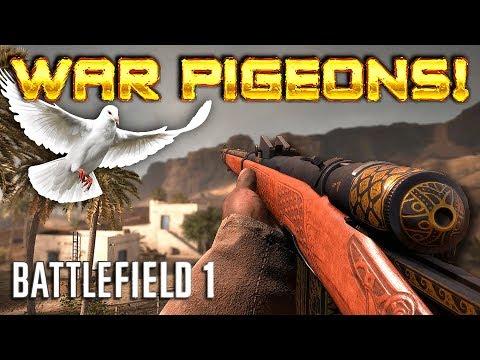 VETTERLI CARBINE in WAR PIGEONS Battlefield 1