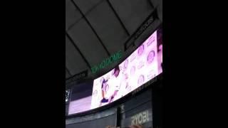 東京ドームで行われました 亀梨和也さんVS清原和博さんとの対決後のイン...
