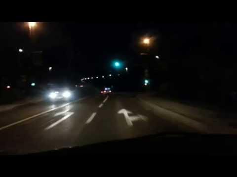 Novo mesto - BMW beži pred policijo