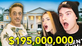 reacting to more celebrity mansions