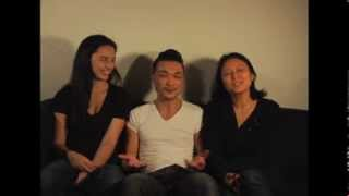 Norman Yeung, Cara Gee & Janet Lo Interview: ANNE DARLING